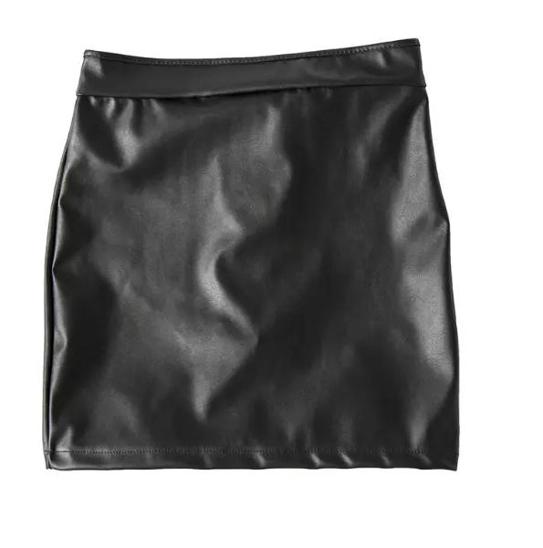 Women Sexy Panties Fashion Leather Open Hip Pants sex Lingerie Women sexy Costume Skirt